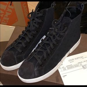 Louis Vuitton Hightop Sneakers
